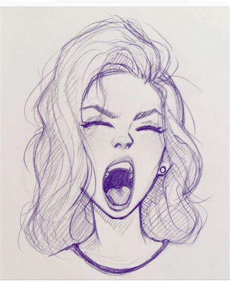 Sketches Reddit by A Cameron Sketch Illustration Sketch Yawn