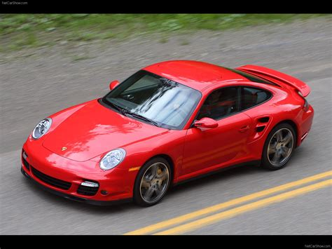 red porsche 911 2007 red porsche 911 turbo wallpapers