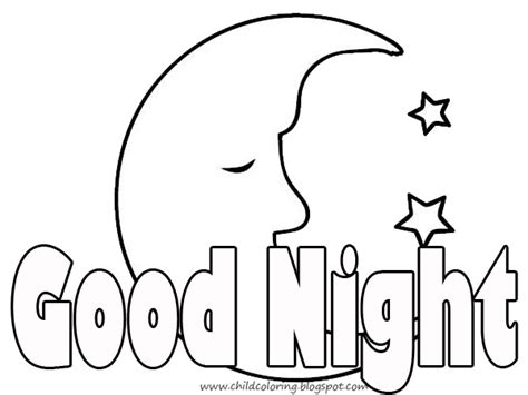 coloring pages for goodnight moon june 2012