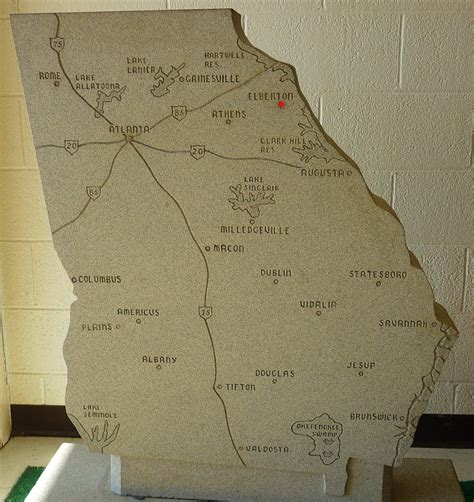 guidestones location map decoding the guidestones s hardware journal