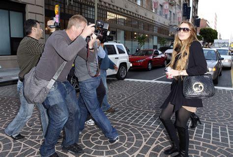 Lindsay Lohan Will Shoot The Paparazzi by Lindsay Lohan Paparazzi Photo Shoot