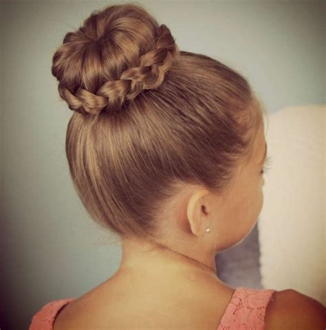 cute hairstyles like buns 21 cute hairstyles for girls hairstyles weekly