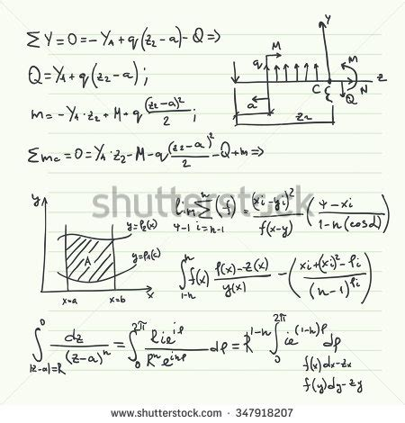 pattern vectors from algebraic graph theory vector pattern with mathematical formulas calculations