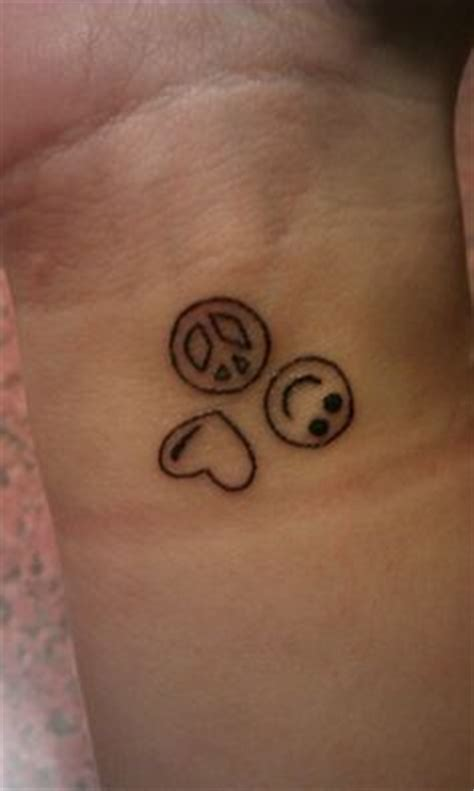 peace love and happiness tattoo designs peace happiness tatted up
