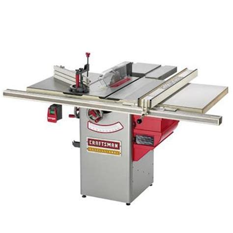 sears hybrid table saw table saws ridgid 3660 vs craftsman professional
