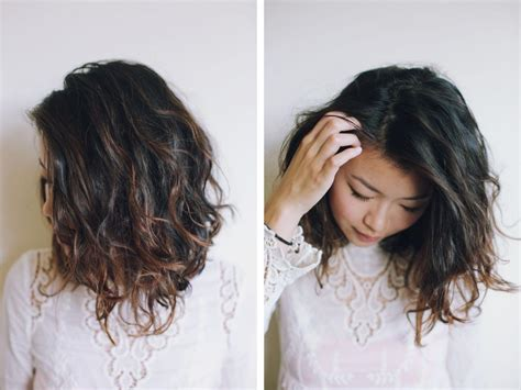 balayage on short hair asian hey pretty thing blog pinteres