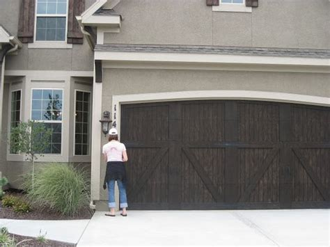 Williams Garage Door Hawthorne Or Chestnut Sherwin Williams Semi Transparent Stain Charwood We Also Liked The