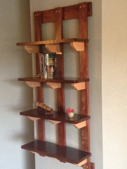 hanging bookshelf for the home