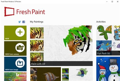 microsoft s redesigned paint app for windows 10 looks fresh paint microsoft s flagship app with a preview