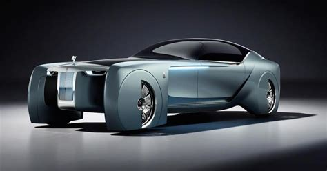 royal rolls car rolls royce ditches the chauffeur in this futuristic