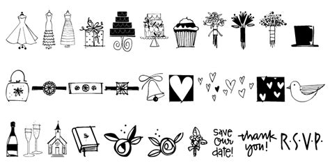 wedding doodle font free all search results for quot wedding quot fonts