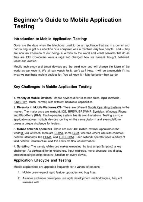 gone starter beginner authentic examination 8483235099 mobile app testing