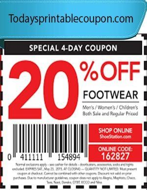 shoe station printable coupon shoe station printable coupon freepsychiclovereadings