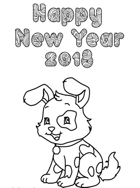coloring pages of chinese new year printable new year 2018 coloring pages
