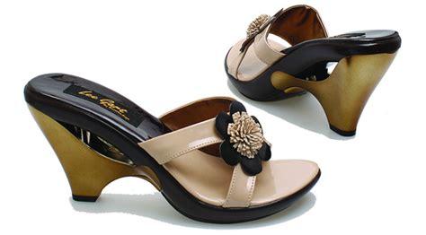 Wedges Wanita Cewek Sepatu Perempuan Pantofel Heels jual sandal wanita murah bsp 137