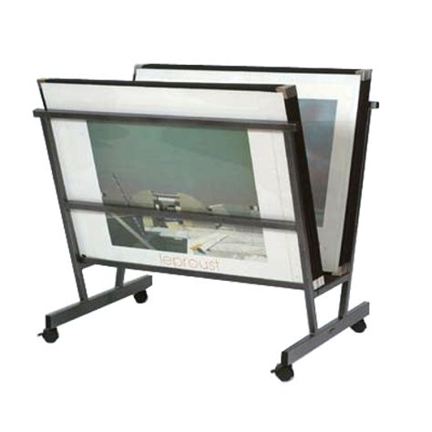 poster browser landscape display stand 15 sleeves 30 x