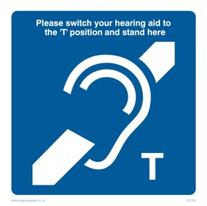 Stiker Loop One hearing aid issues and t settings at the deafened
