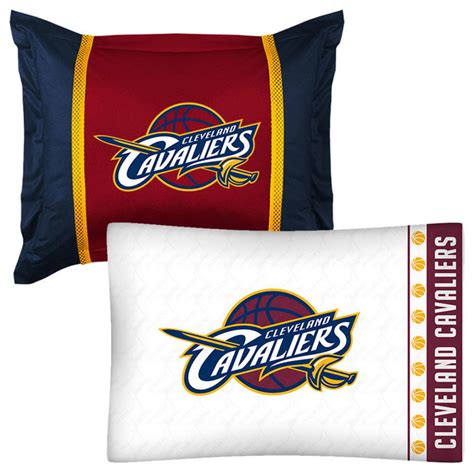 Cleveland Cavaliers Bed Set Nba Cleveland Cavaliers Pillowcase Sham Set Basketball Bed Contemporary Bedding By