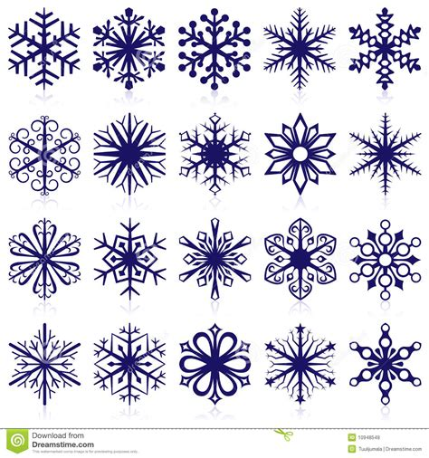 snowflake shapes stock vector image of cool celebration