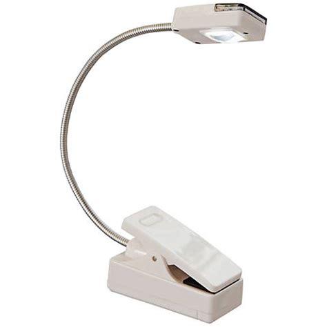 multiflex gooseneck book light black led battery powered clip on gooseneck book light