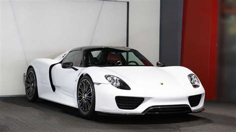 new porsche 918 spyder surfaces for sale