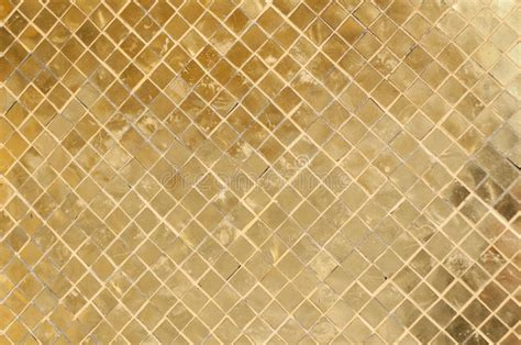Paint Bathroom Floor Gold Tile Background Stock Photography Image 20905322