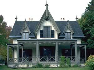 Gothic Revival House by Spring Midterm At Rutgers University New Brunswick