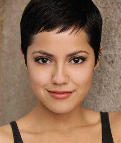 short cuts for dark thinning hair 20 very short haircuts for women short hairstyles 2017