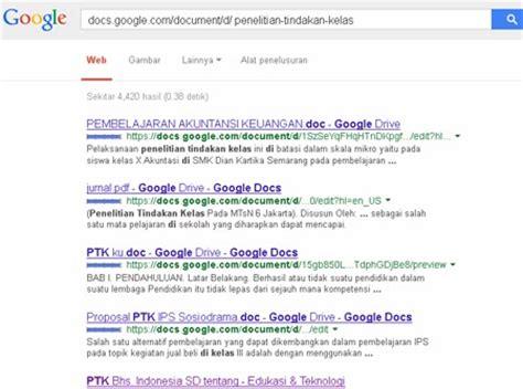 membuat form pencarian google cara mencari contoh proposal dan laporan ptk di google
