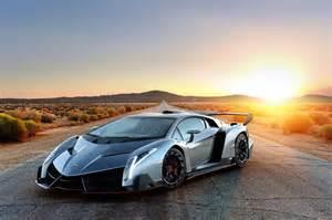 Lamborghini In The Sunset Lamborghini Veneno Hd Picture Wallpaper Wallpaperlepi