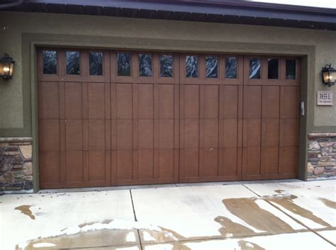 Wooden Garage Doors Ut Commercial Wooden Door Sales Service A Plus Garage Doors