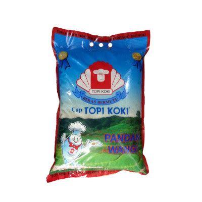 Home Beras Topi Koki topi koki pandan wangi 5 kg citra utama sembako