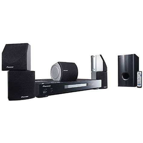 pioneer htz 161 multi system home theater system htz 161 b h