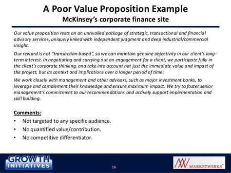 value proposition template selling solutions using a compelling value proposition