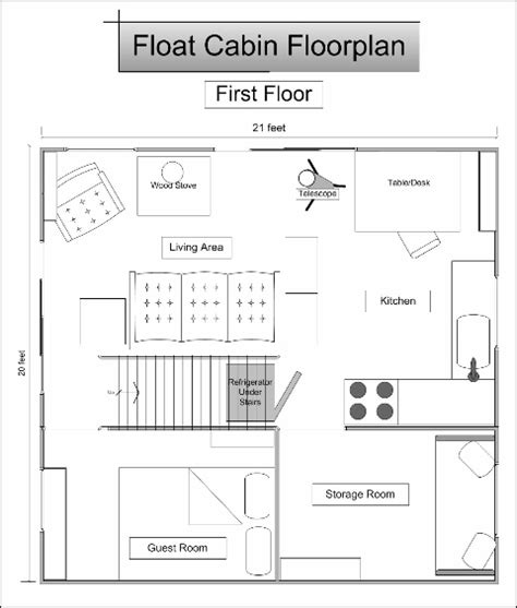 floating home floor plans float cabin floorplan