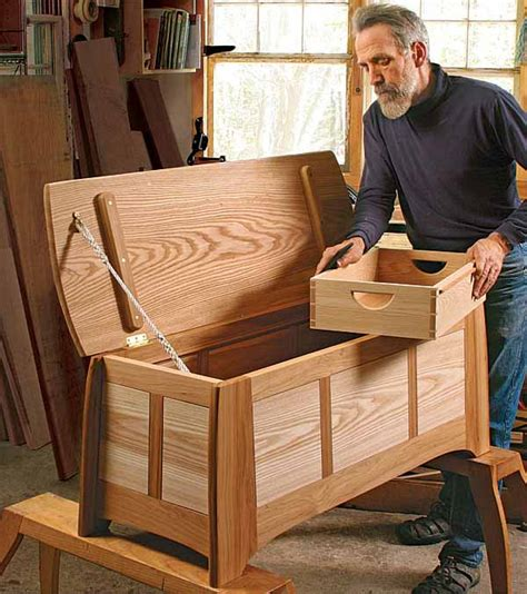 american woodworking your blanket chest featured in an upcoming book