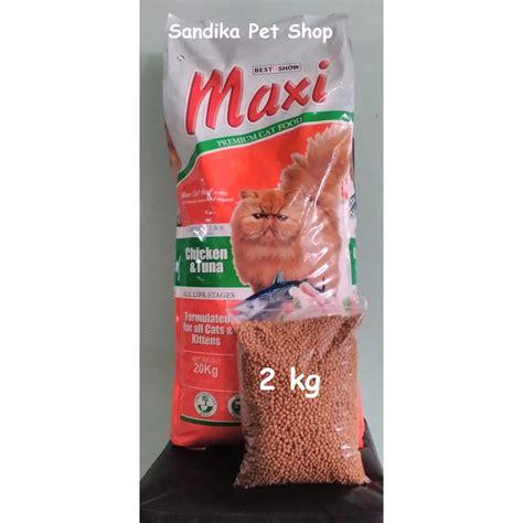 Makanan Kucing Bolt 22 Kg Maxi makanan kucing cat food maxi repack chicken and tuna 2