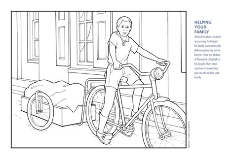90 pioneer boy coloring page lds coloring pages