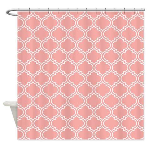 Pink Trellis Curtains Blush Pink Moroccan Lattice Pattern Shower Curtain By Cierraspatterndecorandgifts