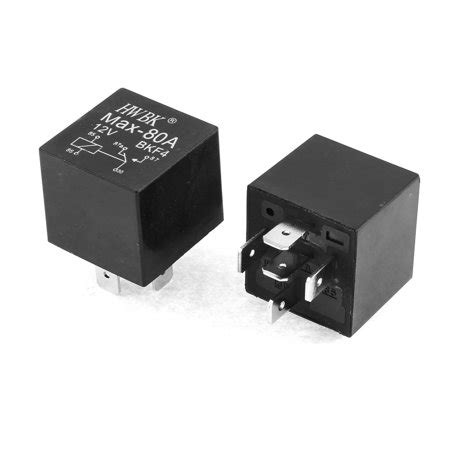Relay 5 Volt Dc car automotive truck dc 12v 12 volt 80a spdt relay 5 pin 2