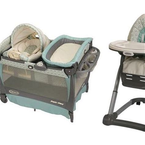 Graco High Chair Winslet by Graco Winslet Stroller Car Seat Pack N From