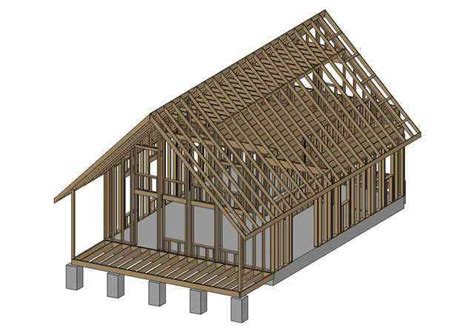 free small cabin plans with loft free shed plans with material list 16x24 joy studio
