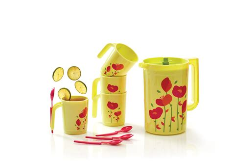 Tupperware Flower Pitcher 2l 1 Pcs flower drink set tupperware tupperware indonesia promo
