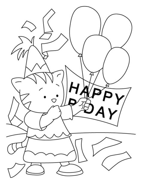 june birthday coloring pages coloring pages birthday coloring pages for childrens