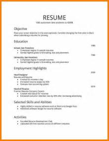 6 how to make resume for with exle monthly