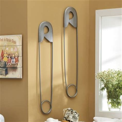 safety pin wall from seventh avenue 44733