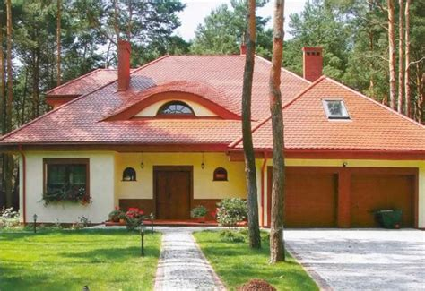 feng shui home design with roof style