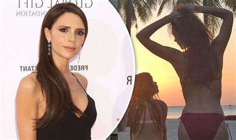 Home Design Tv Shows Uk Victoria Beckham Flaunts Body As She Cosies Up To