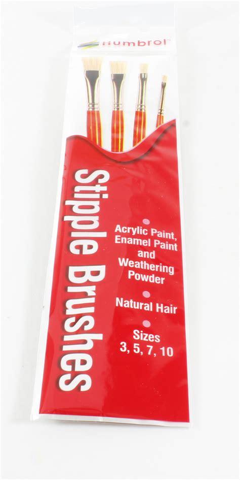 Humbrol Ag4303 Brush Pack hattons co uk humbrol ag4303 brush pack stipple brush pack