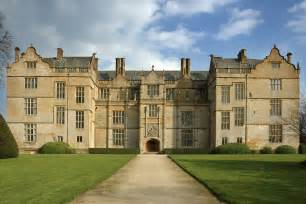 montacute house west house exterior gathering books